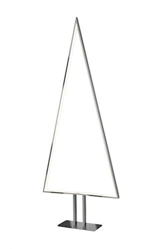 Sompex Designleuchte/LED Weihnachtsbaum Stehleuchte Pine, Aluminium/Silber, Höhe 100cm