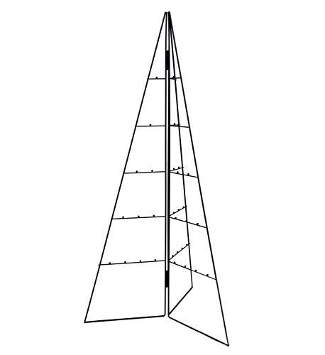 Spetebo Design Metallbaum für Zierschmuck - 100 cm - Deko Baum Weihnachtsbaum Tannenbaum...