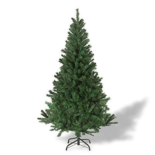 Julido Weihnachtsbaum Kunstbaum künstlicher Baum Tannenbaum Dekobaum Christbaum Grün mit Ständer...