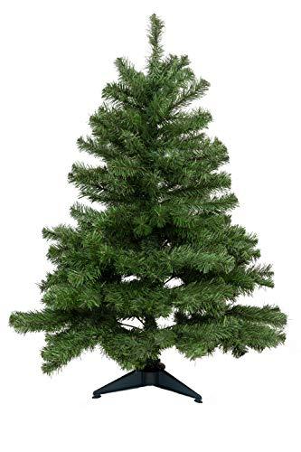 HEITMANN DECO - Künstlicher Weihnachtsbaum zum Zusammenstecken mit Kunststofffuß -...