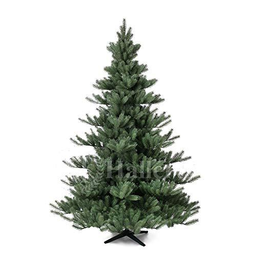 Original Hallerts Spritzguss Weihnachtsbaum Alnwick 210 cm Nordmanntanne - zu 100% in Spritzguss...