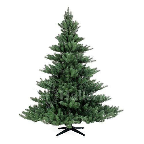 Original Hallerts® Spritzguss Weihnachtsbaum Alnwick 180 cm Nordmanntannne - Christbaum zu 100% in...