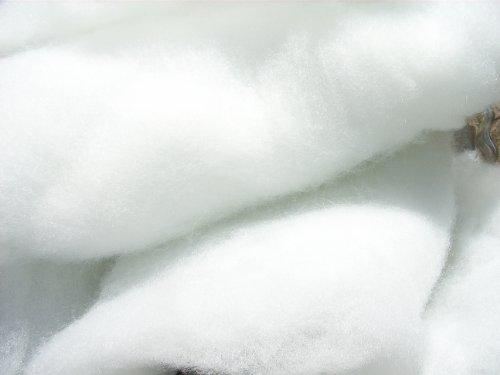 pemmiproducts Schneewatte 1 kg, weiß, schwer entflammbar British Standard (EUR 14,90/kg),...