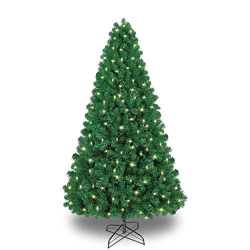Shareconn Premium Künstlicher Weihnachtsbaum mit Stabilem Ständer mit 1178 Spitzen und...