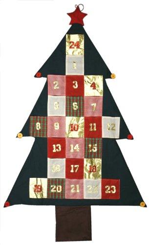 172cm XXL Adventskalender Advent Kalender Deko Wandbehang Weihnachtsdeko Geschenk...