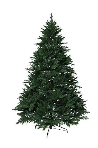 VIVANNO Künstlicher Weihnachtsbaum Tannenbaum Premium Nordmanntanne (180 cm)