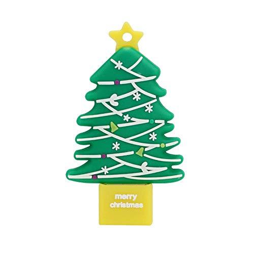 4 GB USB-Stick Super Cute Christmas Tree USB-Stick - Cartoon USB 2.0 Memory Stick...
