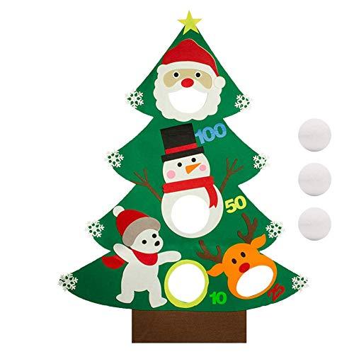 Filz-Weihnachtsbaum Wurfspiel