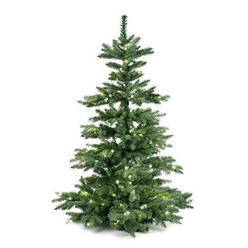 Xmasdeco Exklusiver Weihnachtsbaum 150cm mit Beleuchtung | 210 LED