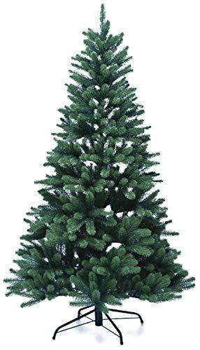 Lönartz Naturgetreuer künstlicher Weihnachtsbaum PE-Spritzguss (ohne Beleuchtung), Höhe: 180cm /...