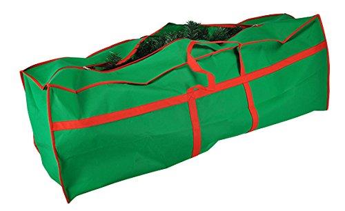 HI Tannenbaumhülle Weihnachtsbaumhülle grün 210 cm Tannenbaumtasche...
