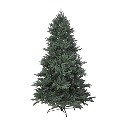 RS Trade HXT 1418 künstlicher PE Spritzguss Weihnachtsbaum 180 cm (Ø ca. 120 cm) mit ca. 3245...