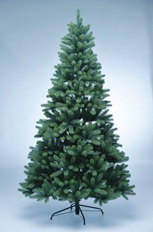 kunstpflanzen-discount.com PE Weihnachtsbaum 210cm mit 1156 Tips als Spritzguss Nadeln in...