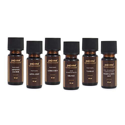 Pajoma Golden Line Duftöl Set Made in Germany Raumduft für Duftlampe Aromatherapie oder...