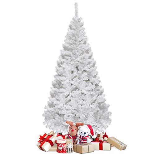 COSTWAY 150/180/210/240cm Künstlicher Weihnachtsbaum, Tannenbaum mit Metallständer,...