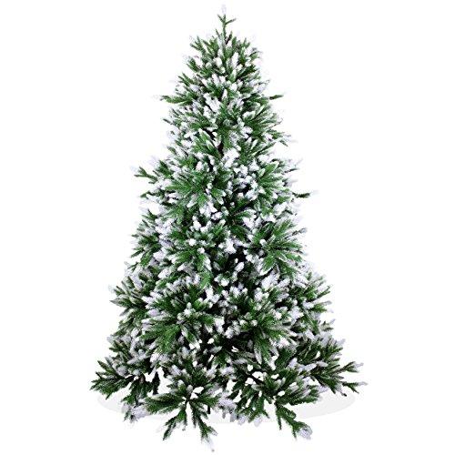 Künstlicher Weihnachtsbaum 180cm Deluxe in Premium Spritzguss Qualität, angeschneite...
