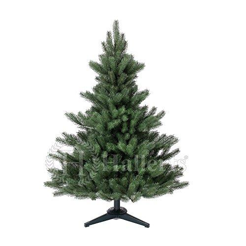 Original Hallerts Spritzguss Weihnachtsbaum Alnwick 120 cm als Nordmanntanne - Christbaum zu 100% in...