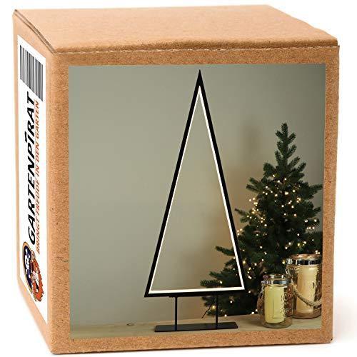 LED Weihnachtsbeleuchtung Tanne 69 cm Metall für innen Tischleuchte/Stehleuchte...
