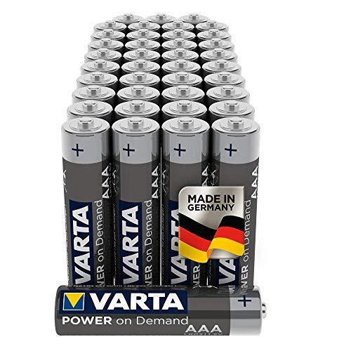 VARTA Power on Demand AAA Micro Batterien (geeignet für Computerzubehör, Smart Home...