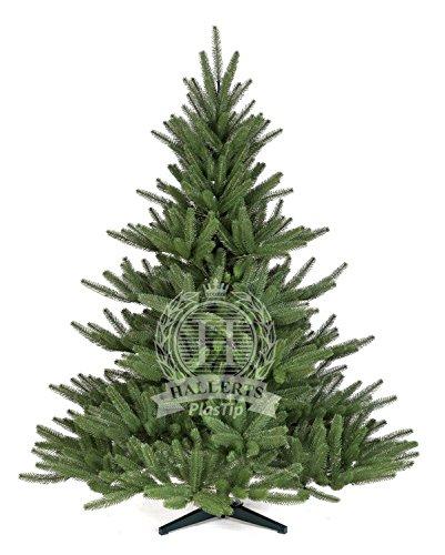 Original Hallerts Spritzguss Weihnachtsbaum Bolton 150 cm als Edel Nordmanntanne - Christbaum zu...