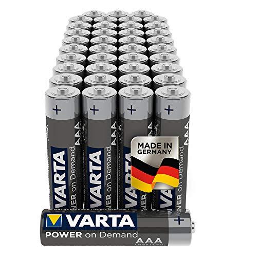 VARTA Power on Demand AAA Micro Batterien (geeignet für Computerzubehör, Smart Home Geräten oder...