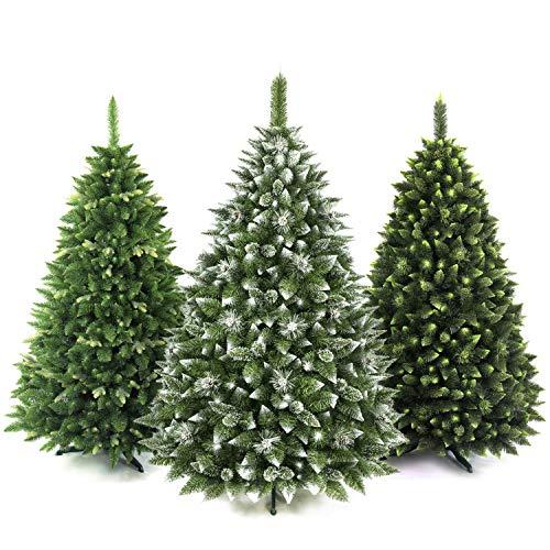 AmeliaHome 07836 180 cm Künstlicher Weihnachtsbaum PVC Tannenbaum Christbaum Kiefer Lemmy...