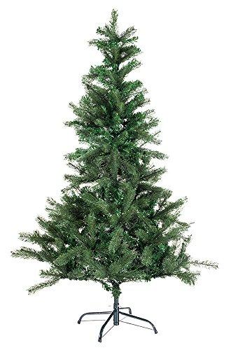 Hiskøl 180 cm Spritzguss-PVC Mischung ca. 920 Astspitzen Künstlicher Weihnachtsbaum...