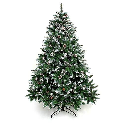 Yorbay Weihnachtsbaum Tannenbaum mit Ständer 120cm-240cm für Weihnachten-Dekoration Mehrweg...