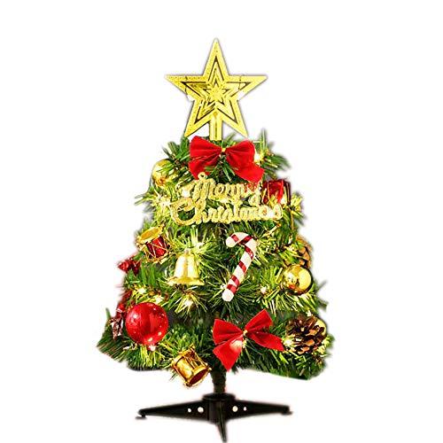 AcseGery Geschmückter künstlich Weihnachtsbaum Tannenbaum Weihnachtsbaum klein mit...