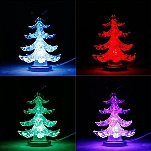 USB Weihnachtsbaum 4-farbig