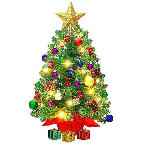Mini Weihnachtsbaum,Mini Tannenbaum für Tisch,Weihnachtsbaum Miniatur,Mini Weihnachts...