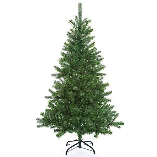Casaria Weihnachtsbaum 140 cm Edeltanne Ständer künstlicher Tannenbaum Christbaum Tanne...