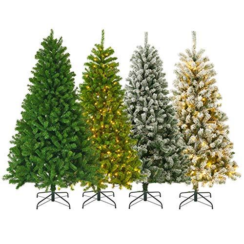 KENSWINO künstlicher Weihnachtsbaum 180 cm, Schnell aufbau mit klappbares...