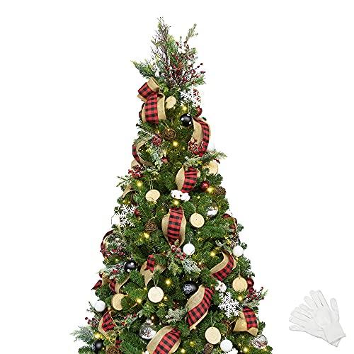 Künstlicher Weihnachtsbaum geschmückt