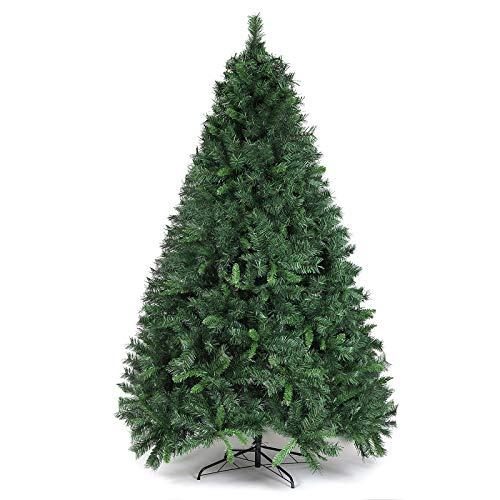 SALCAR Weihnachtsbaum künstlich 210cm mit 868 Spitzen, Tannenbaum künstlich...