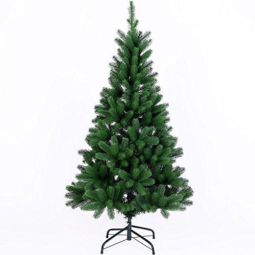 Deuba Weihnachtsbaum 140 cm Ständer Spritzguss künstlicher Tannenbaum Christbaum Baum Tanne...