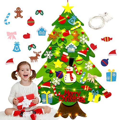 Filz-Weihnachtsbaum zum selber dekorieren
