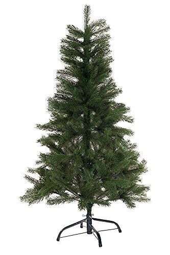 Hiskøl 120 cm Spritzguss ca. 244 Astspitzen Künstlicher Weihnachtsbaum Tannenbaum...