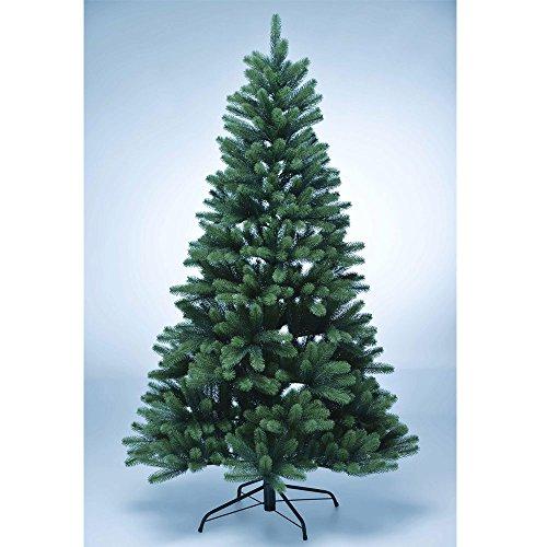 DILUMA Weihnachtsbaum Künstlich 180cm - Premium Christbaum aus 100% PE Spritzguss - B1...