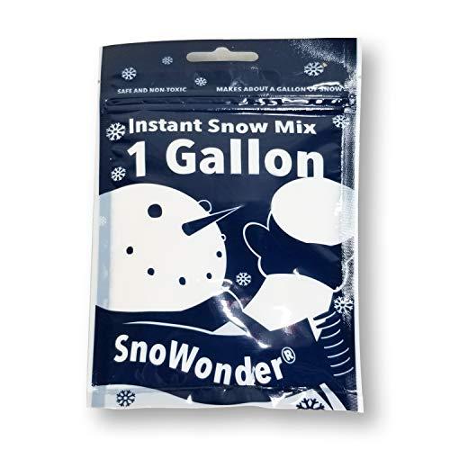 SnoWonder Instant Snow Schneepulver, Kunstschnee, Sofortiger Pulverschnee, Cloud Slime, 4...
