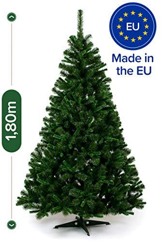 Künstlicher Weihnachtsbaum 180cm in Premium-Qualität - Authentische Nordmanntanne für eine...