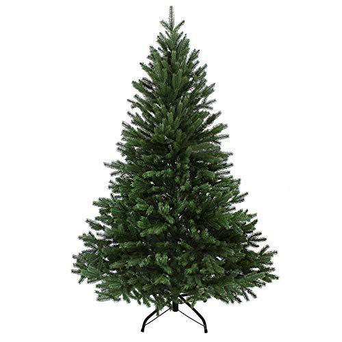 BB Sport Luxus Christbaum 150 cm Dunkelgrün künstlicher Weihnachtsbaum PE/PVC Spritzguss...