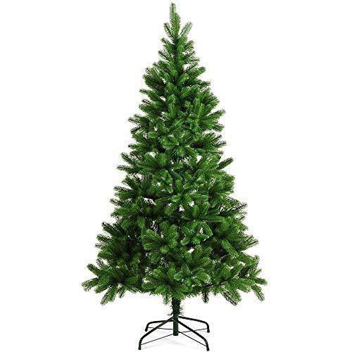 Deuba Weihnachtsbaum 180 cm Ständer Spritzguss künstlicher Tannenbaum Christbaum Baum Tanne...