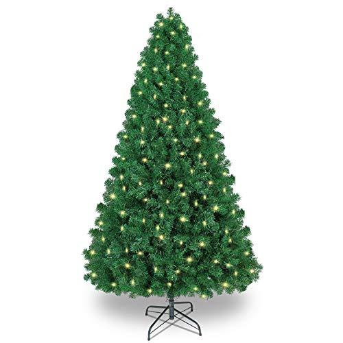 Shareconn Premium Künstlicher Weihnachtsbaum mit Stabilem Ständer mit 1602 Spitzen und 470...