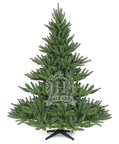 Original Hallerts Spritzguss Weihnachtsbaum Bolton 180 cm als stufige Edeltanne - Christbaum zu 100%...