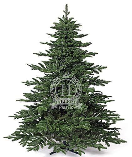 Original Hallerts Spritzguss Weihnachtsbaum Windsor 210 cm Edel Fichte - zu 100% in Spritzguss...