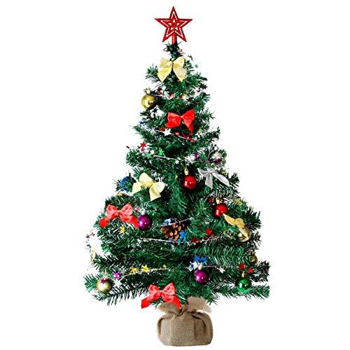Baunsal GmbH & Co.KG Weihnachtsbaum Tannenbaum Christbaum künstlich 90 cm grün mit...