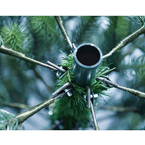 DILUMA Weihnachtsbaum Künstlich 180cm mit LED Beleuchtung - Premium Christbaum aus 100%...