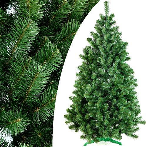 DecoKing 52518 180 cm Künstlicher Weihnachtsbaum grün Tanne Lena Weihnachtsdeko