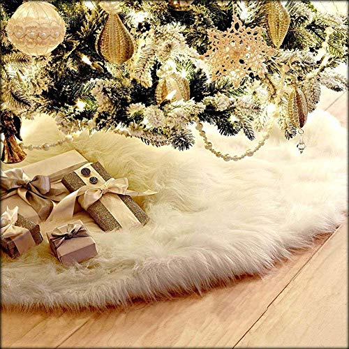 CHBOP 78cm Weihnachtsdecke Weihnachtsbaumdecke Unterlegdecke Baumdecke Christbaumständer...